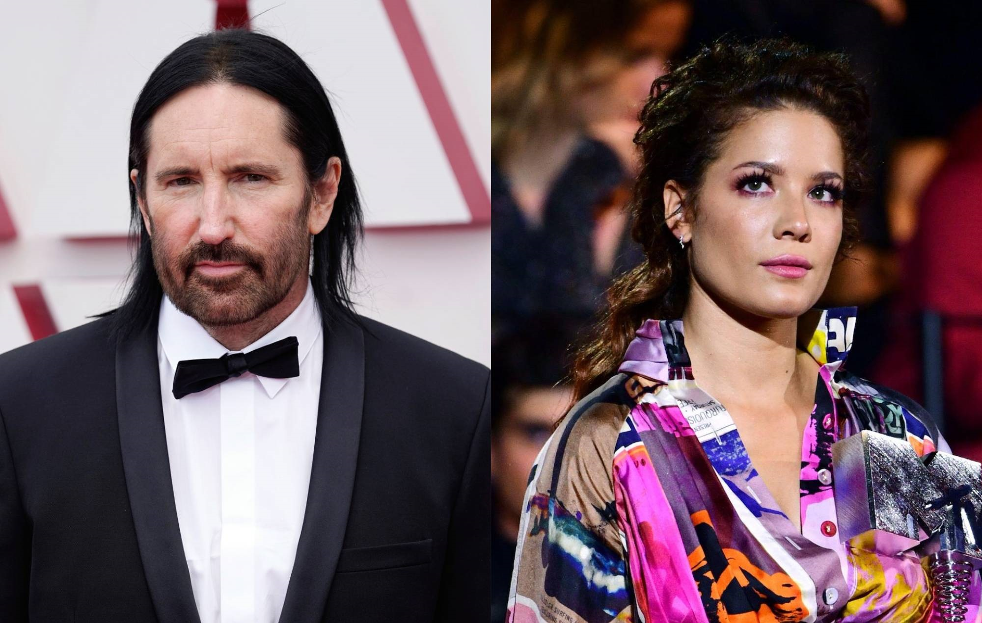 """Trent Reznor says producing Halsey's album """"changed"""" him """"in a good way"""""""